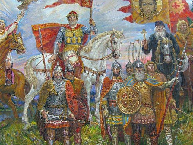Участники у памятника Г. К.Жукова
