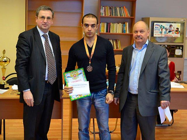 3-е место — IM Айрапетян Гор