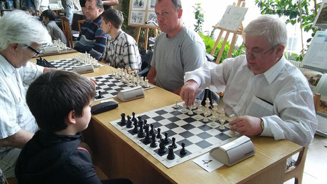Данила Билан выиграл 5-й этап шахматного фестиваля, посвященного 60-летию образования Обнинска