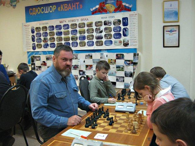 Финал первенства Обнинска по шахматам среди мужчин
