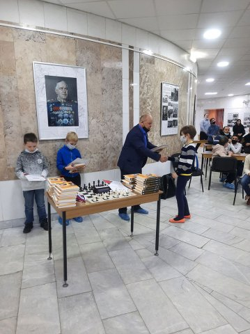 Турнир по быстрым шахматам в честь 124-й годовщины со дня рождения Г.К. Жукова