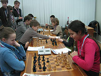 С 14 по 16 декабря в шахматном центре лицея «Держава» проходило первенство города Обнинска среди школьных команд на приз клуба «Белая ладья».
