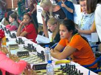 Чемпионаты Европы среди юношей и девушек,  Будва, Черногория. После пятого тура