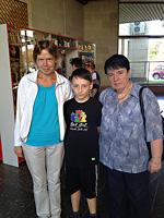 В гандикап-турнире на «Vladimir OPEN-2013» победил Вячеслав Михайлов из Костромы. Нона Гаприндашвили заняла  3 место