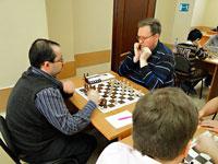 За тур до конца первенства ЦФО по шахматам среди мужчин позиции лидеров без изменений