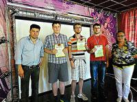 В Пущино прошел юбилейный, пятый по счету, рейтинговый турнир на призы клуба  Julia  по классическим шахматам