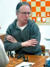 В финале первенства города Обнинска после пяти туров лидирует кандидат в мастера Антон Логинов