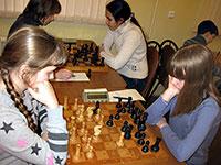 Матч между юными шахматистами Обнинска и Брянска