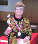Урбанайтес Эльвира — чемпионка ЦФО по шахматам среди ветеранов