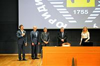 На Юрфаке МГУ состоялся Студенческий шахматный фестиваль: Кубок декана по блицу и лекция Сергея Карякина