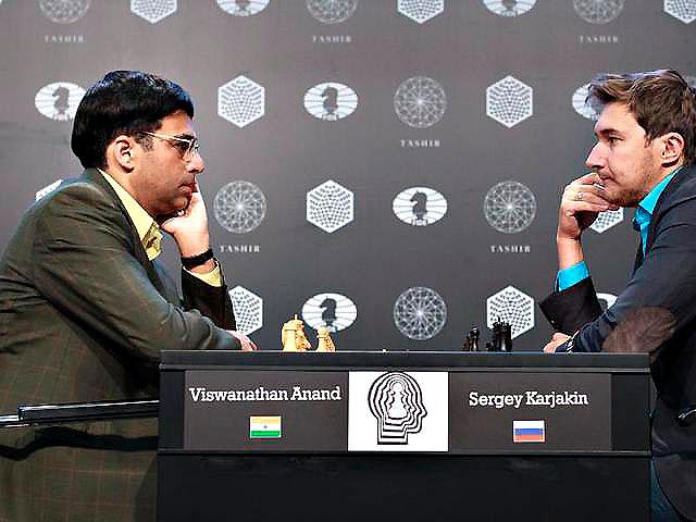 Россиянин Сергей Карякин завоевал право сыграть с Магнусом Карлсеном в матче за шахматную корону