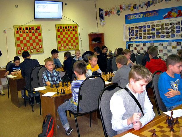Первенство Обнинска среди школьных команд «Белая ладья»