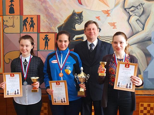 Чемпионат ЦФО по шахматам среди женщин. Итоги