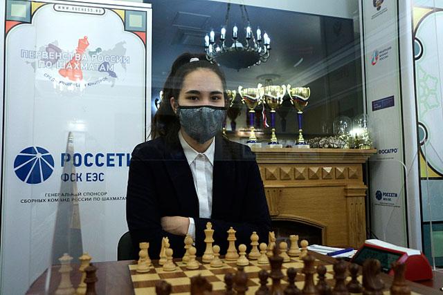 Первенство России по классическим шахматам среди девушек до 21 года