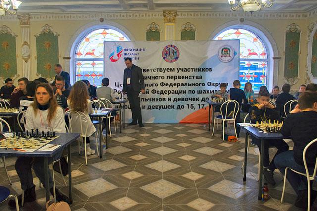 Первенство ЦФО по классическим шахматам среди юношей и девушек. После 7-го тура