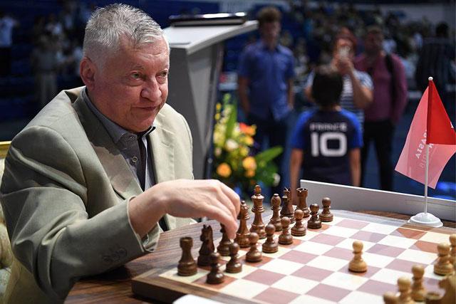 12-й чемпион мира по шахматам Анатолий Карпов о победе Карлсена в рапиде