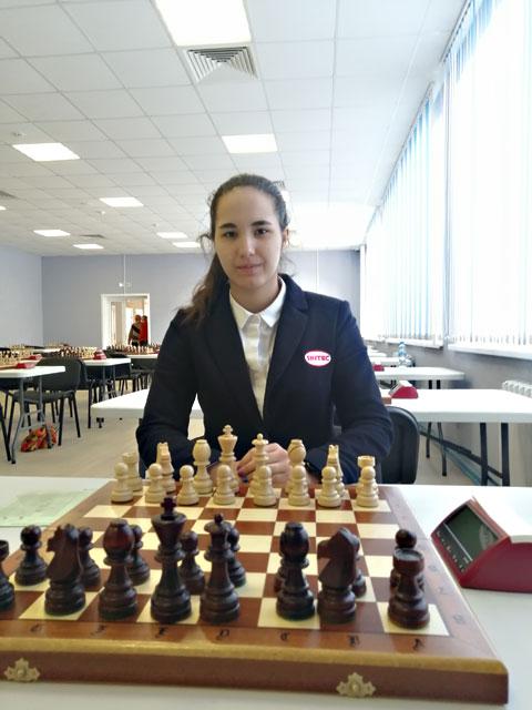 В чемпионате мира среди студентов по блицу приняла участие международный мастер из Обнинска Анна Афонасьева