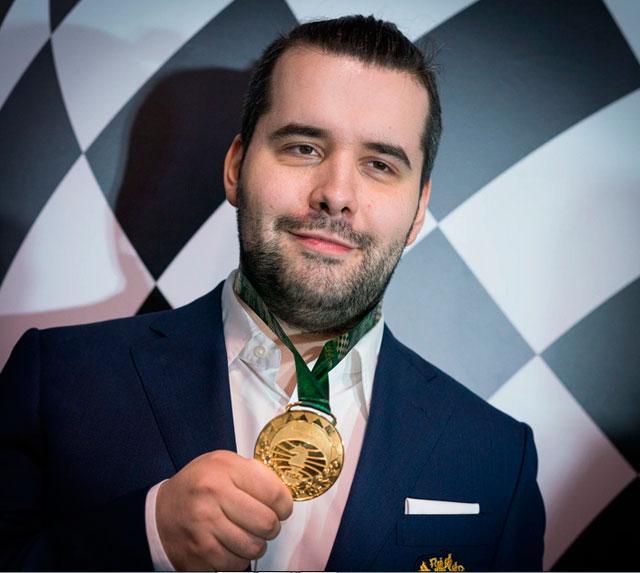 Турнир претендентов ФИДЕ досрочно выиграл российский гроссмейстер Ян Непомнящий