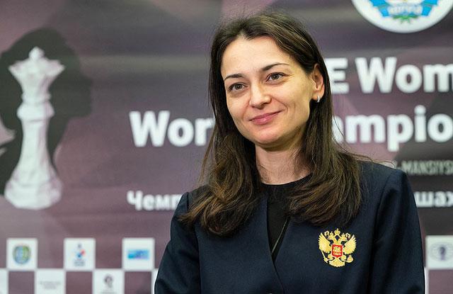 Чемпионат Европы по быстрым шахматам выиграла Александра Костенюк
