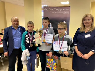 Итоги шестнадцатого турнира по быстрым шахматам «Кубок И.А. Сокрустова»