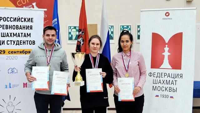 Всероссийские соревнования по шахматам среди студентов. Итоги
