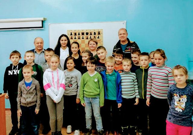 Шахматы как жизнь. Творческая встреча воспитанницы СШОР «Квант» города Обнинска Анны Афонасьевой