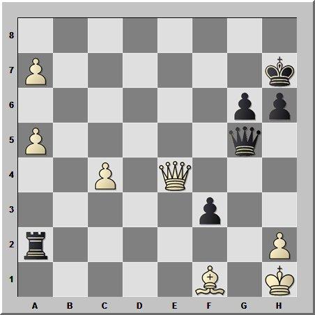 Маленький шедевр от маленького шахматиста