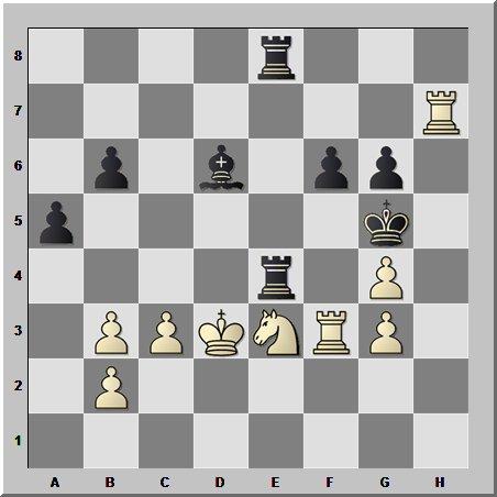 В шахматном эндшпиле проводят не только пешки в ферзи, но и красивые комбинации