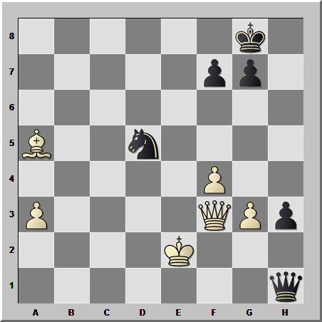 И снова кудесник шахмат, но... в эндшпиле
