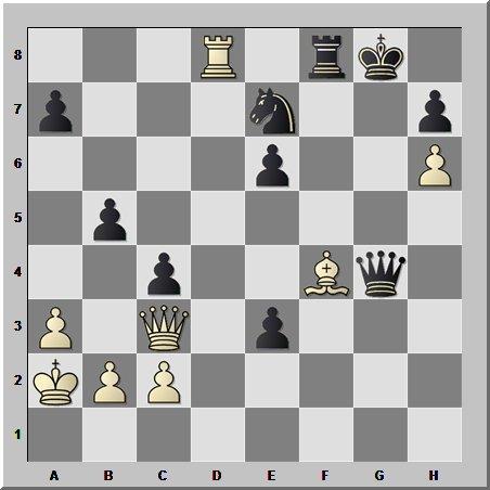 Шахматная феерия от Александра Морозевича