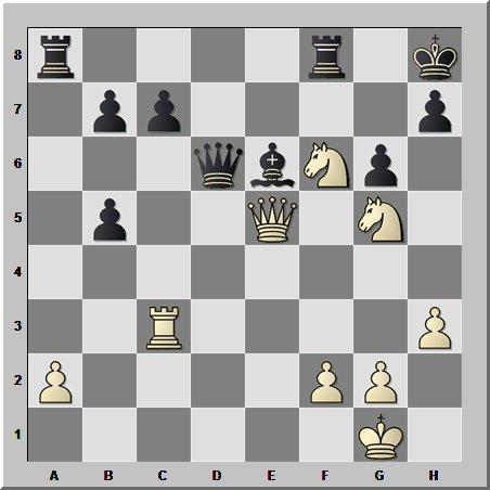 Всё подвисло и на связках, но ради шахматных красот этим можно пренебречь