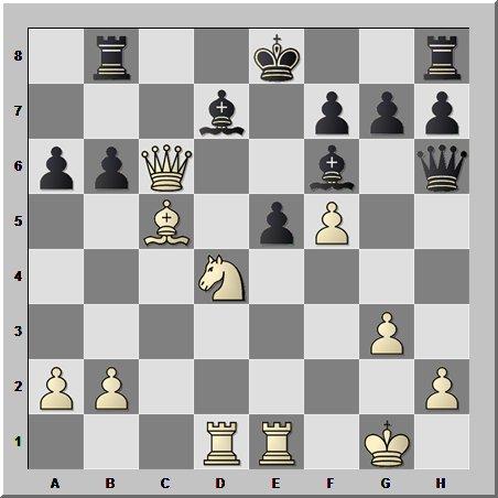 Шахматная головоломка из творчества людей