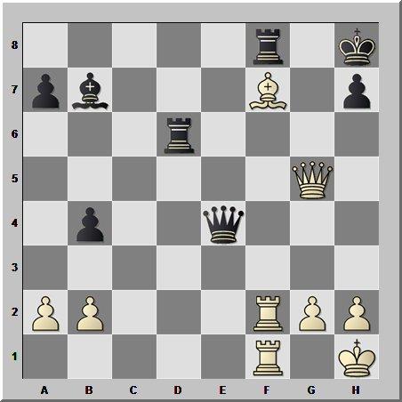 Шахматный урок типовых комбинаций: перекрытие с завлечением на ослаблении 8-й горизонтали