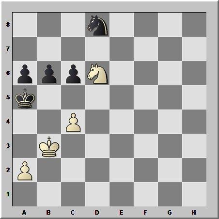 Шахматные окончания: коневая игра при пешечном взаимодействии