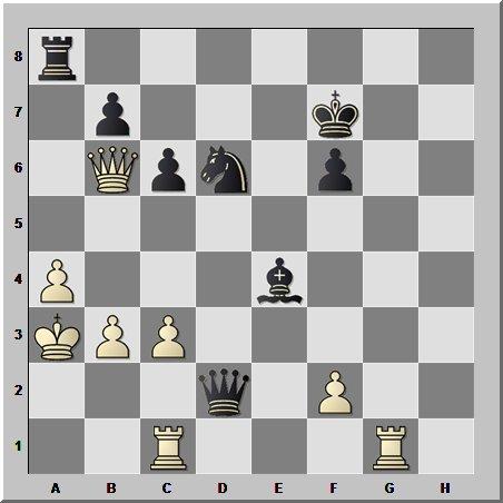 Элегантная комбинация от пятого чемпиона мира по шахматам Макса Эйве