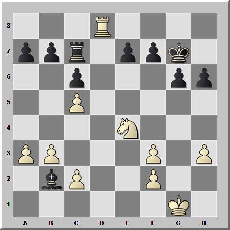 Шахматные окончания: пленение фигур противника