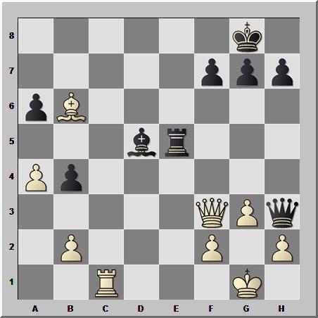 Король почти заматован, но надежда в шахматах умирает последней! А военную хитрость никто не отменял