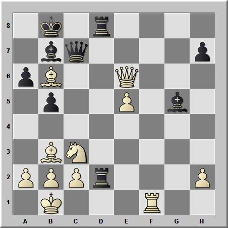 Красивая комбинация из творчества 6-й чемпионки мира по шахматам