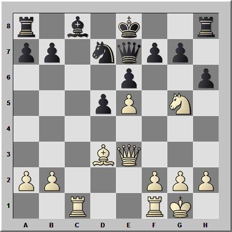 Шахматный шедевр юного 16- го чемпиона мира