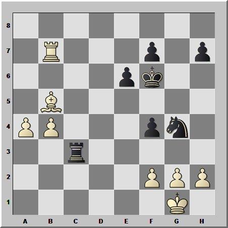 Казус первой горизонтали в шахматном окончании
