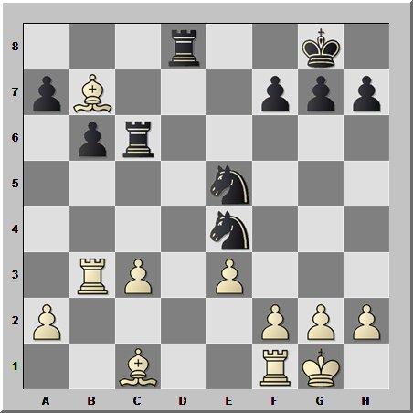 Шахматные противостояния: два коня против двух слонов