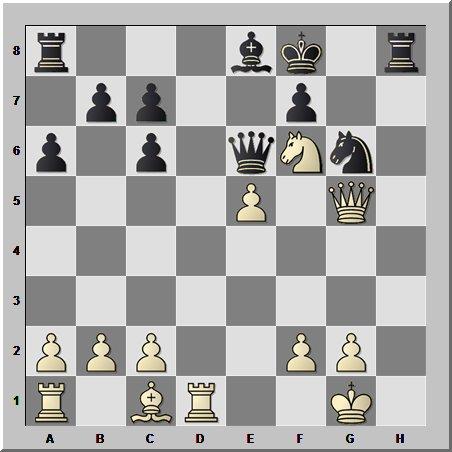 Шахматные комбинации: застрявший король и открытые линии