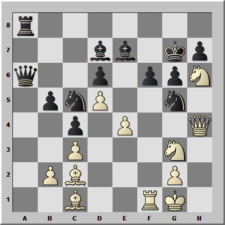 Шахматный шедевр будущего 16-го чемпиона мира по шахматам