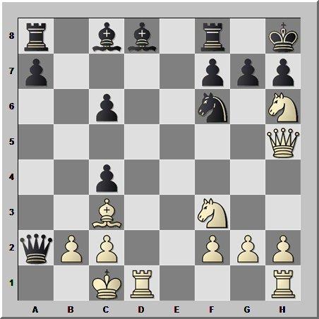 Молодой Михаил Таль атакует экс-чемпиона мира по шахматам Василия Смыслова