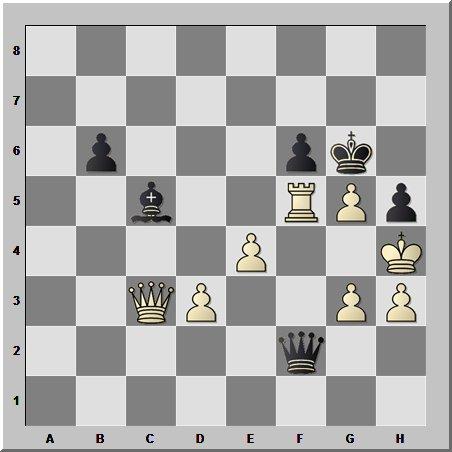 Шахматный шедевр в смешанном окончании