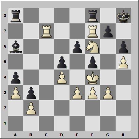 На шахматной сцене  великий комбинатор !