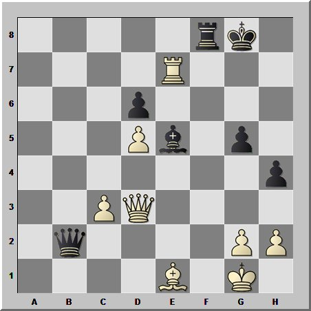 Шахматные комбинации: атака по всем направлениям