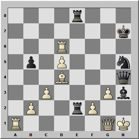 Шахматные комбинации: лёгкая фигура за несколько пешек