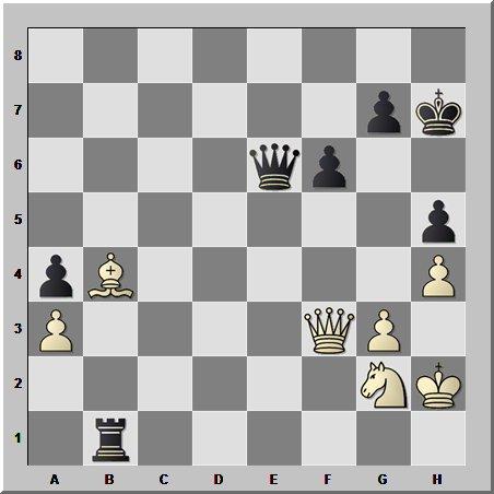 В шахматах даже в простой позиции возможен взрыв. Тем более, когда  за роялем  15-й чемпион мира