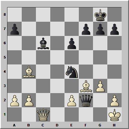 Захватывающая дуэль шахматных слонов от Виктора Корчного